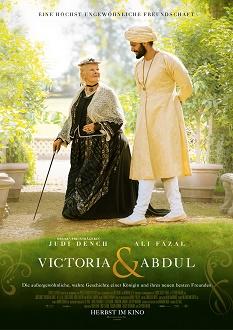 Victoria & Abdul Plakat klein - Universal Pictures