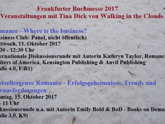 Walking in the Clouds auf der Frankfurter Buchmesse 2017