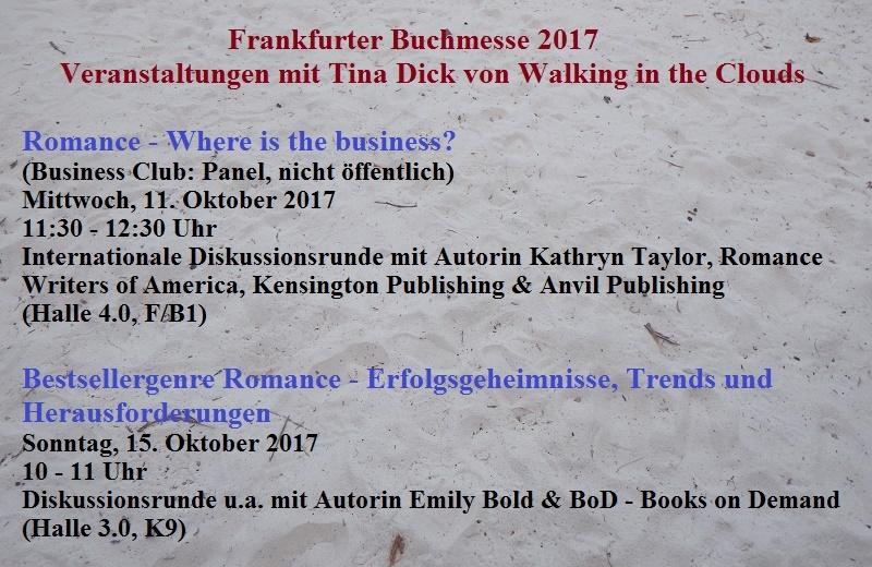 Walking in the Clouds auf der Frankfurter Buchmesse 2017