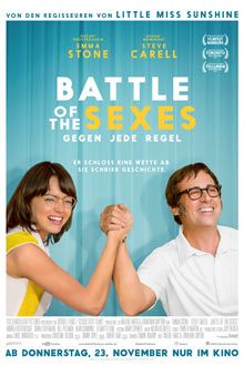 Battle of the Sexes - Gegen jede Regel - Twentieth Century Fox - Plakat klein