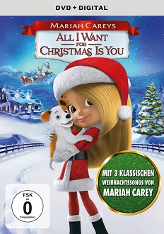 Mariah Carey's All I Want For Christmas Is You - Universal - DVD-Cover
