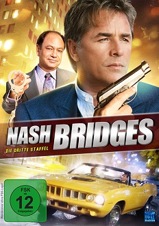 Nash Bridges - Staffel 3 - KSM - DVD-Cover