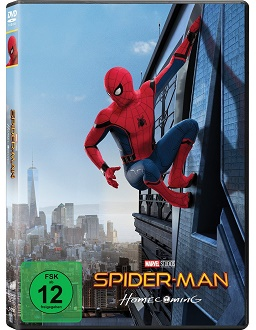 Spider-Man Homecoming - Sony - DVD-Cover