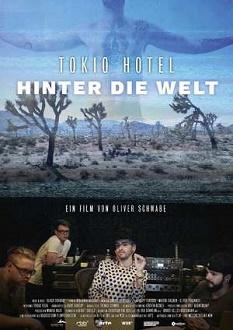 Tokio Hotel - Hinter die Welt - mindjazz pictures - Plakat