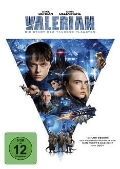 Valerian - Die Stadt der tausend Planeten - Universum - DVD-Cover