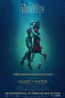 Shape of Water - Das Flüstern des Wassers - Twentieth Century Fox - Plakat klein