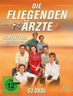Die fliegenden Ärzte - Komplettbox - Fernsehjuwelen - DVD-Cover