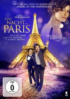 Eine Nacht in Paris - Tiberius - DVD-Cover
