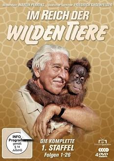 Im Reich der wilden Tiere Staffel 1 - Fernsehjuwelen - DVD-Cover