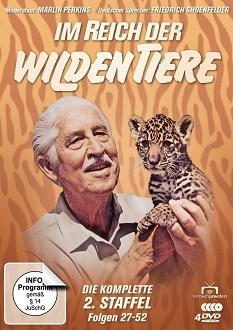Im Reich der wilden Tiere Staffel 2 - Fernsehjuwelen - DVD-Cover
