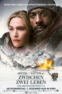 The Mountain between us - Zwischen zwei Leben - Twentieth Century Fox - Plakat klein
