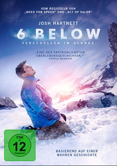6 Below - Verschollen im Schnee - DVD-Cover klein - Universum