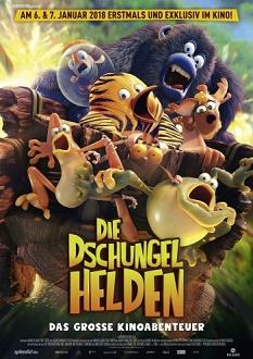 Die Dschungelhelden - Das große Kinoabenteuer - Plakat klein - Splendid