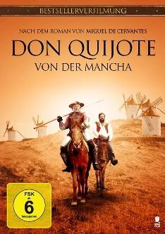 Don Quijote von der Mancha - DVD-Cover klein - Tiberius