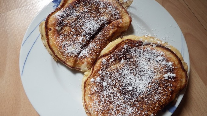 Einfach lecker - Buttermilchpfannkuchen