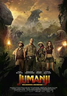 Jumanji - Willkommen im Dschungel - Sony Pictures - Plakat klein