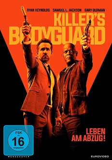 Killer's Bodyguard - DVD-Cover klein - Eurovideo