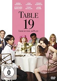 Table 19 - Liebe ist fehl am Platz - DVD-Cover klein - Twentieth Century Fox