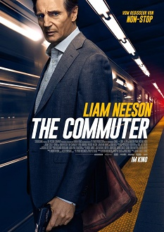 The Commuter - Plakat klein - Studiocanal