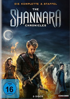 The Shannara Chronicles - Die komplette 2. Staffel - Concorde Home Entertainment - DVD-Cover klein