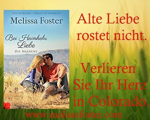 Anzeige Melissa Foster Die Flucht der Braut