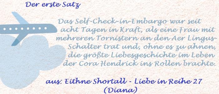 Der erste Satz - Shortall, Eithne - Liebe in Reihe 27