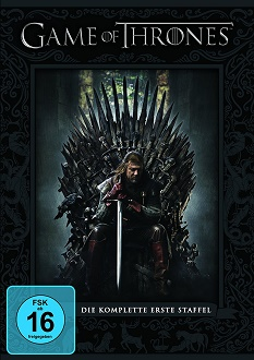 Game of Thrones - Staffel 1 - DVD-Cover - Warner