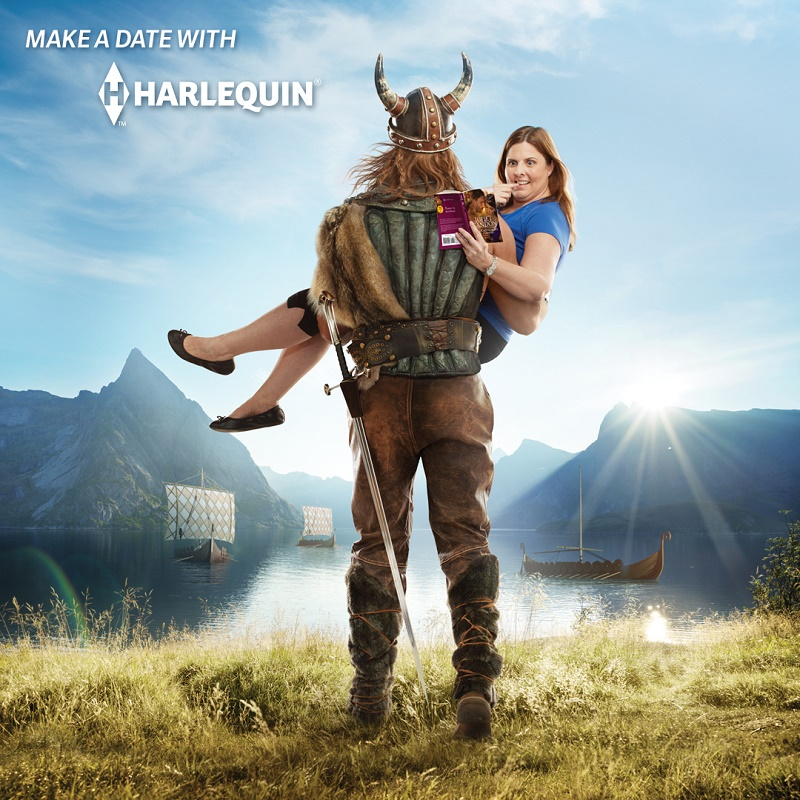 Make a date with Harlequin - Viking