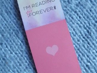 Slogan - I'm reading Forever