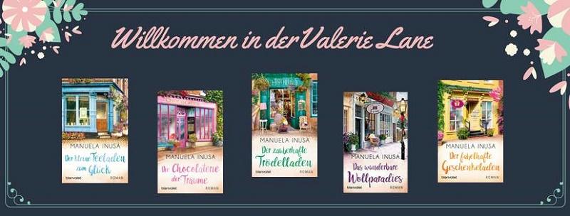 Banner - Inusa, Manuela - Willkommen in der Valerie Lane