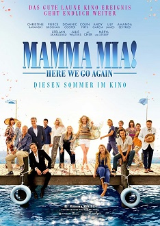 Mamma Mia Here We Go Again - Filmplakat - Universal Pictures