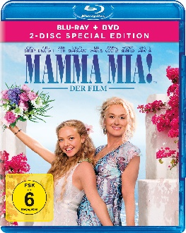 Mamma Mia Der Film - Special Edition - Blu-ray-Cover - Universal Pictures