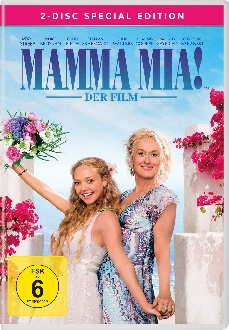 Mamma Mia Der Film - Special Edition - DVD-Cover - Universal Pictures