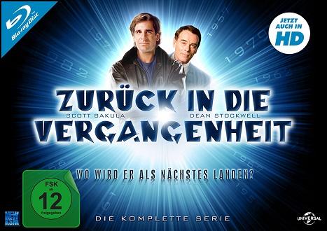 Zurück in die Vergangenheit - Die komplette Serie - Blu-ray-Cover klein - KSM